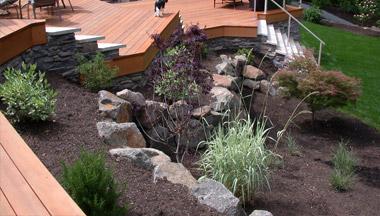 multi tiered deck building Grand Rapids