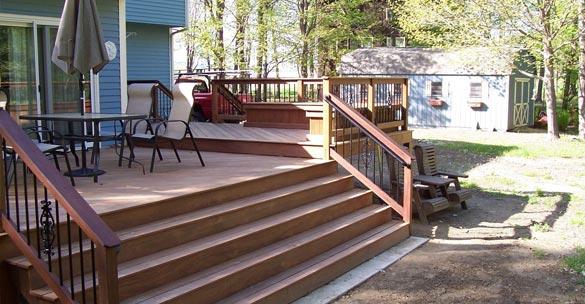 Attached deck Building Grand Rapids