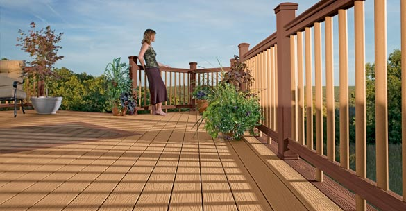 Attached deck contractor Grand Rapids Michigan
